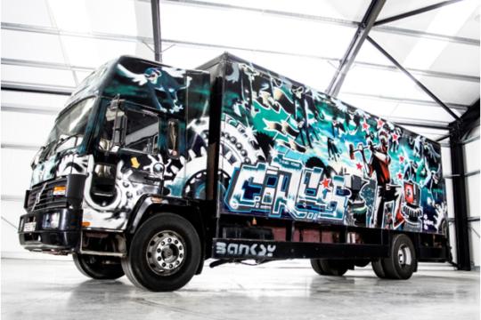 Truck Tuning Banksy